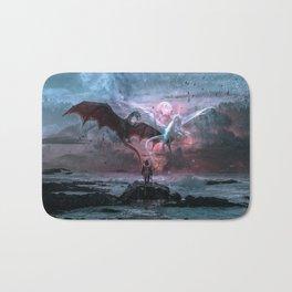 Dragon castaway Bath Mat