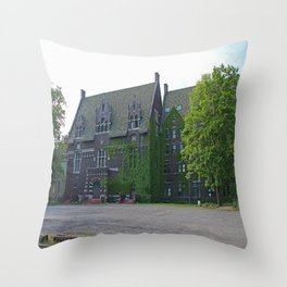 Old West End Mary Manse College Auditorium aka Lois Nelson Theater II Throw Pillow