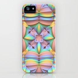 Symmetry in Pastels iPhone Case