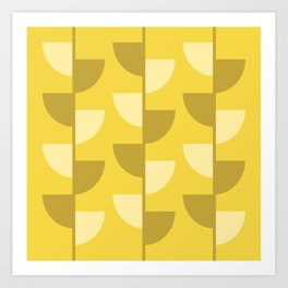 Lemon Slices in the Summer Sun Art Print