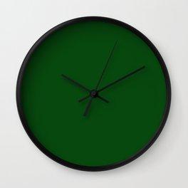 Bright green. Wall Clock