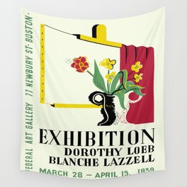 Loeb/Lazzell Exhibition Wall Tapestry