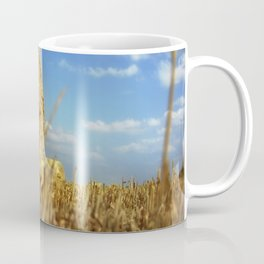 Big Straw Bales Landscape Coffee Mug