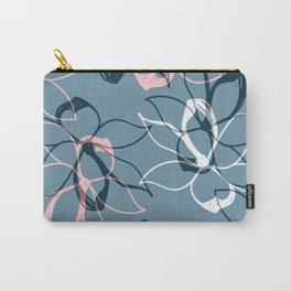 Pastel Flowers pattern Carry-All Pouch