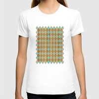 wooden T-shirts featuring Wooden Mint  by Louise Machado