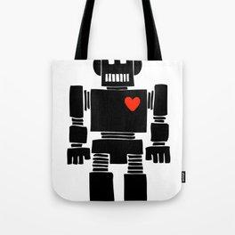 Loverbot Tote Bag