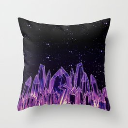 Dark Crystal Throw Pillow