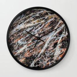 Copper ore Wall Clock