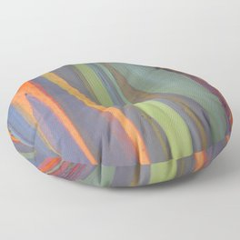Rainbow Eucalyptus Magic Floor Pillow