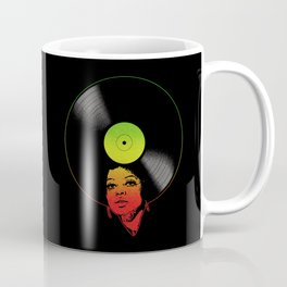 Afrovinyl (Rasta) Coffee Mug