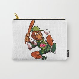 Baseball Monkey - Limerick Carry-All Pouch