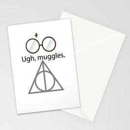 Ugh, muggles. Stationery Cards