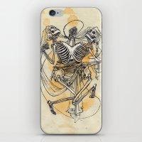 gemini iPhone & iPod Skins featuring Gemini by Anna Rosenfeld