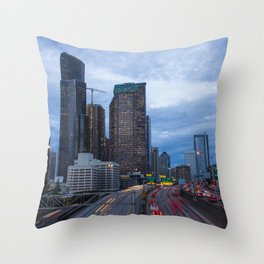 Yesler Bridge Throw Pillow