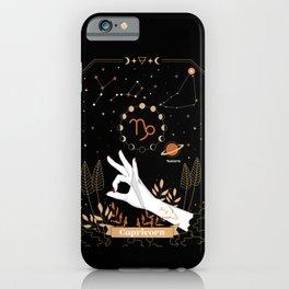 Capricorn Zodiac Sign iPhone Case