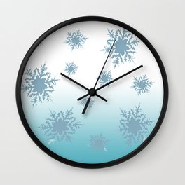 Chilly/ Inspired by Frozen Wall Clock