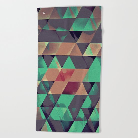 spyllx Beach Towel
