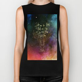 She was the heir of ash and fire and she would bow to no one. Aelin Biker Tank