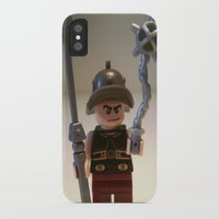 gladiator iPhone & iPod Cases featuring Gladiator 'Cracalla the Gladiator' LEGO Custom Minifigure by Chillee Wilson by Chillee Wilson [Customize My Minifig]