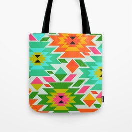 Ethnic with a tropical summer vibe Tote Bag