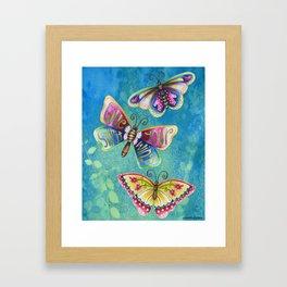 Give Your Spirit Wings  Framed Art Print