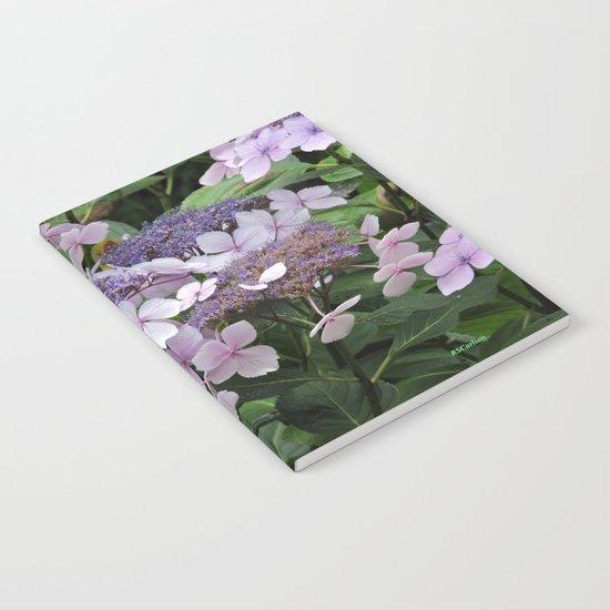 Hydrangea Violet Hues Notebook