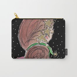 Star Girl Sparkles Carry-All Pouch