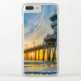 Tower Zero - Sentinel at Sunset Clear iPhone Case