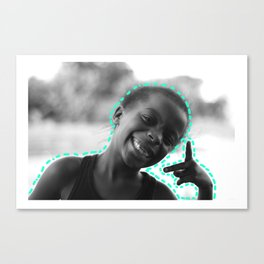 Peace & Happiness Canvas Print