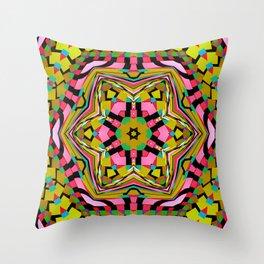 Hexagon, 2260t Throw Pillow