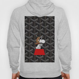 flying snoopy Hoody