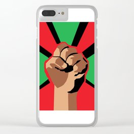 For the People Clear iPhone Case