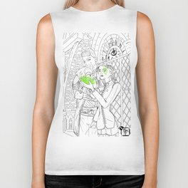 But it Still Lingers Biker Tank