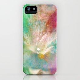 Good Morning Glory iPhone Case