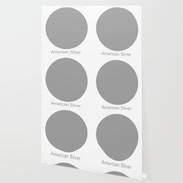 American Silver Wallpaper