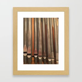 those pipes! Framed Art Print
