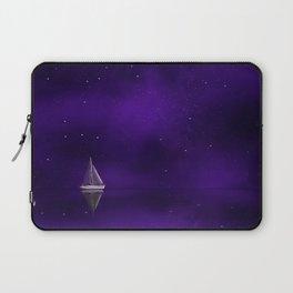 Purple Ship Laptop Sleeve