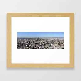 Paris From Above Framed Art Print