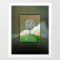 Virtue - Through The Looking Glass Series Art Print