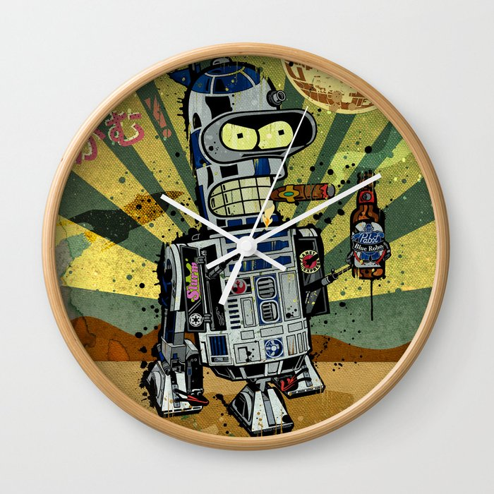 BendR2D2 Wall Clock