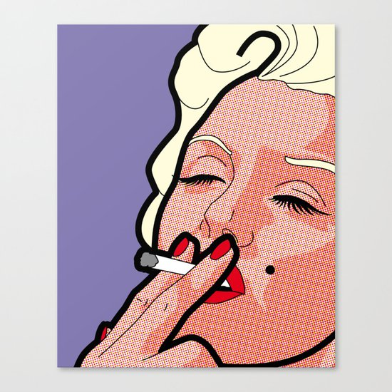 Pop Icons - Marilyn Canvas Print