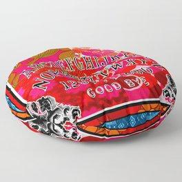 Spring Vibes Ouija Board Floor Pillow