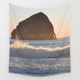CAPE KIWANDA SUNSET - OREGON Wall Tapestry