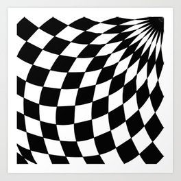 Wonderland Floor #1 Art Print