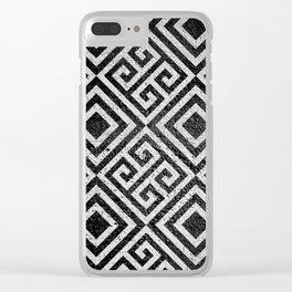 Hard Zebra Clear iPhone Case
