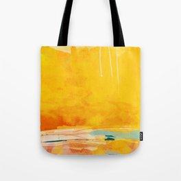 sunny landscape Tote Bag
