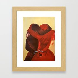 Hold Me Close Framed Art Print