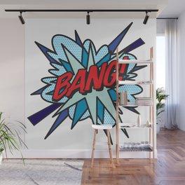 BANG Comic Book Flash Pop Art Cool Typography Wall Mural