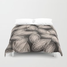 Fallen Fairy Wings - Silver Screen Edition Duvet Cover