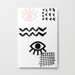 MAUVAIS OEIL #01 Metal Print